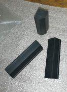 Gummiblock, Keil, Profil Gummi