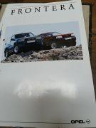 Frontera Prospekt, 8 Seiten + Postkarte