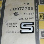 S - Embleme, Vergasermodelle, 13S, 19S, 20S etc